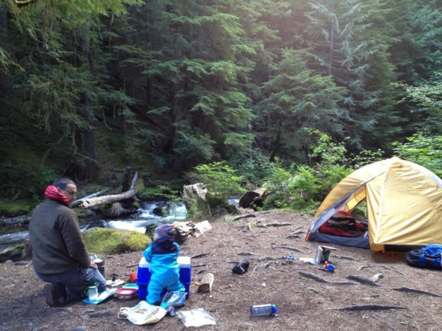 First Time Camping with Baby (1)
