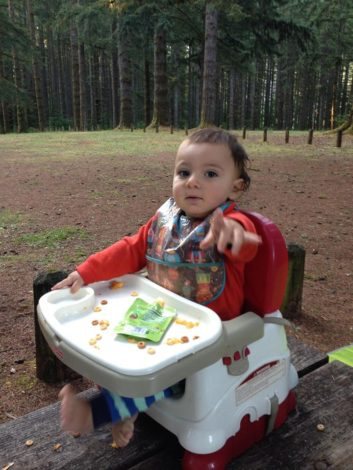Camping with Baby or Toddler