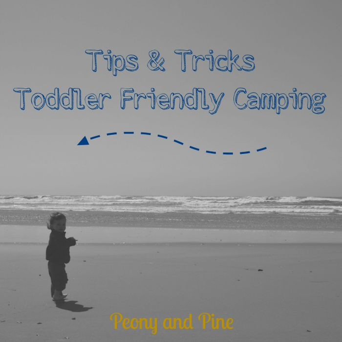 Toddler Friendly Camping Tips and Tricks