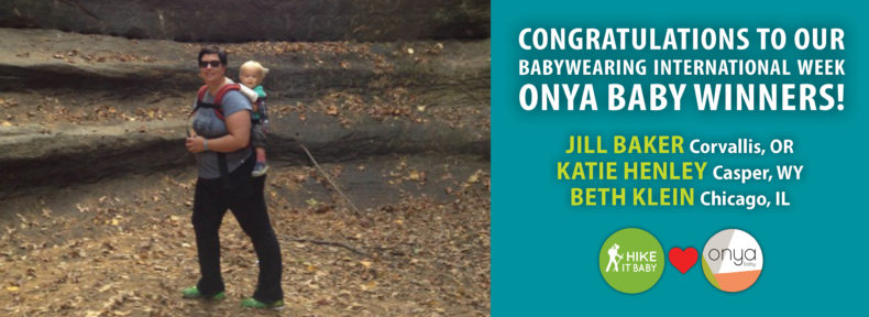 IBW Week's Onya Baby Carrier Winners