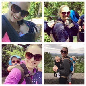 Tandem Babywearing on Trail - Tips and Tricks (1)