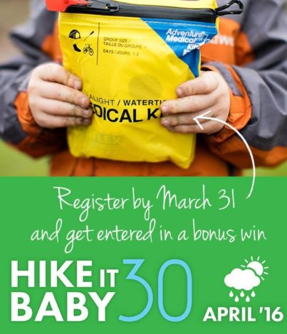 Hike it Baby is taking the April 30 Challenge on the road (2)