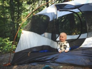 Picking a Campsite for Baby (2)