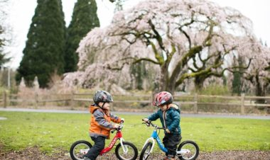 7 step guide to get kids on bikes 1