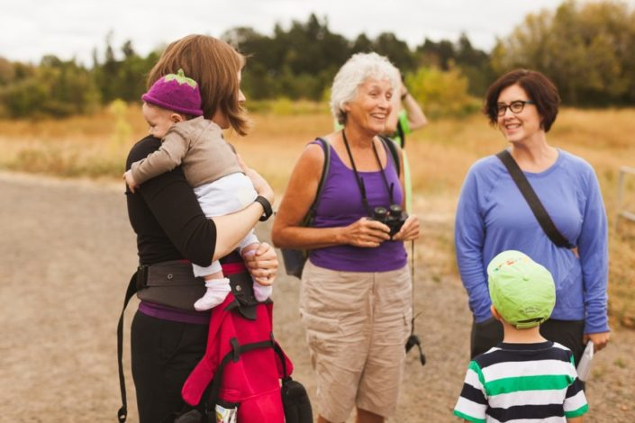 sharing the trail with food allergy families
