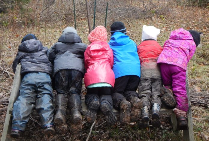 Taking Learning Outdoors: Preschool Gets a Makeover by Jessica Nave for Hike it Baby