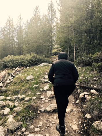 My Trip to Yellowstone and Self Discovery by Michelle Flamer for Hike it Baby