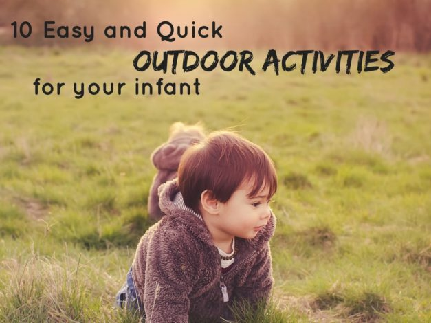 Simple, Quick and Easy Outdoor Activities for Infants - Hike