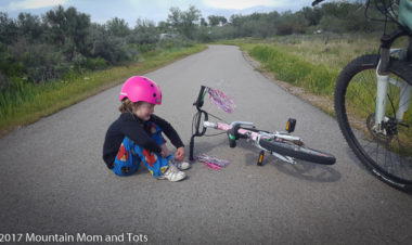 Bike It Baby- Am I a Pusher Parent? Susan talks about her experience with May's National Bike Month and her goals to reach five biking miles.