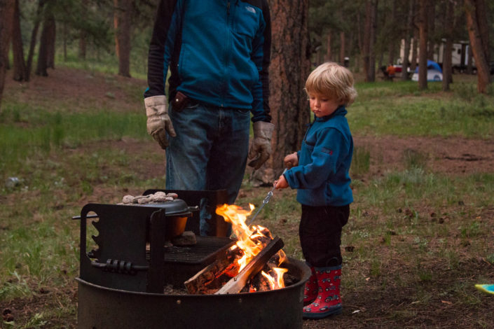 Nighttime Activities for Camping by Mary Flynn for Hike it Baby (photo courtesy of Two Kids in Tow)
