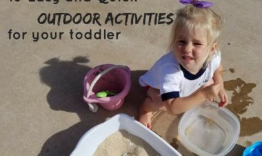 Ten Easy Outdoor Activities for Toddlers by Kirby Crawford for Hike it Baby