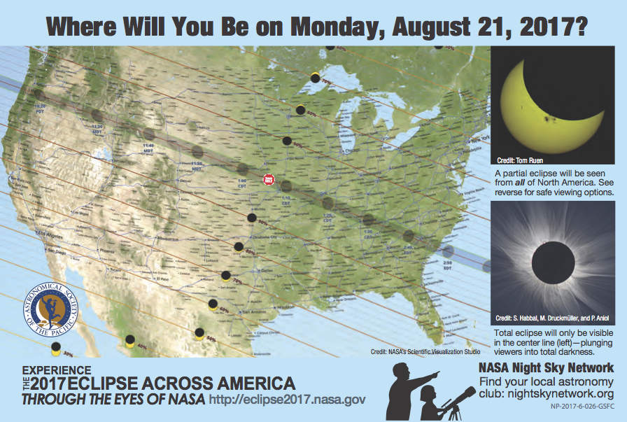 Total Solar Eclipse 2017 How Will You Be Viewing Hike It Baby