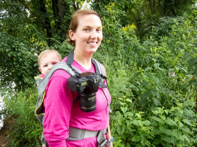 How Not to Drop your Camera While Carrying your Kid - A Gear Review By Melissa Hollingsworth for Hike it Baby