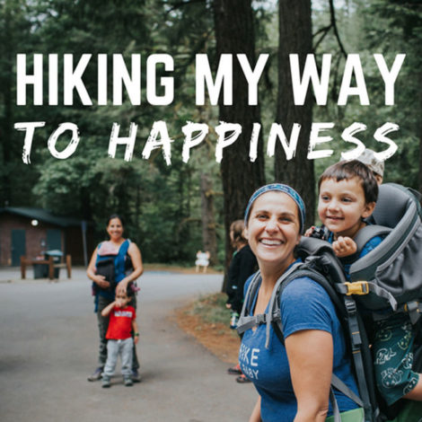 Hiking my way to happiness podcast for Hike it Baby
