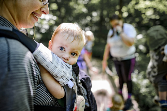 Hiking with Young Infants: Tips and Tricks by Tallie K for Hike it Baby