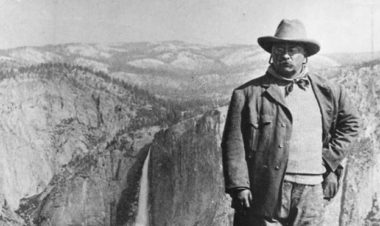 Conservationist Theodore Roosevelt for Hike it Babyu