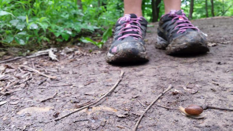 5 Things kids enjoy about hiking in rain and cold by Vong Hamilton for Hike it Baby.