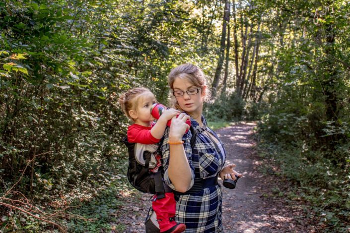No Zero Days Challenge by Molly Porzel for Hike it Baby