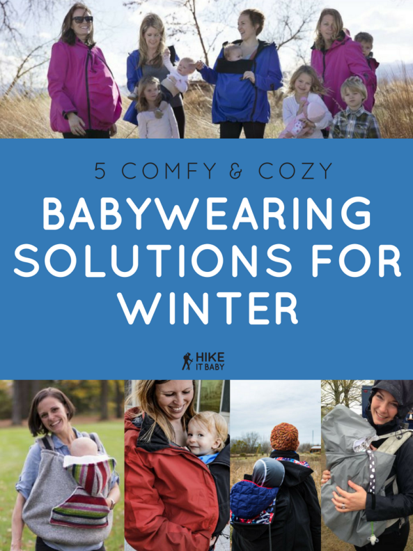 5 Babywearing Solutions for Winter and Cold