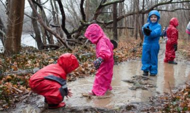Gear essentials for hiking with kids in the winter