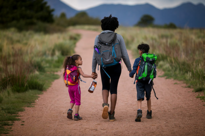 Hiking essentials by Rebecca Hosley for Hike it Baby