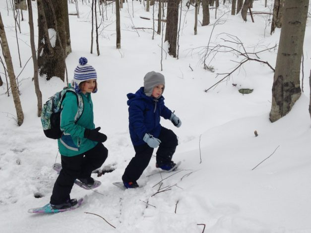Family Snowshoeing 101 by Rebecca Hosley for Hike it Baby