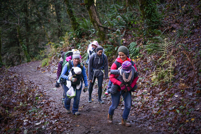 Resolutions to get outside by Rebecca Hosley for Hike it Baby