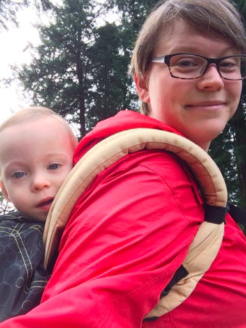 How to get outside with your NICU baby by Anna David for Hike it Baby