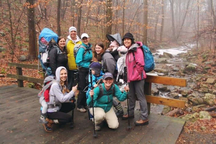 One mother's journey to overcome postpartum by Casey Cattell for Hike it Baby