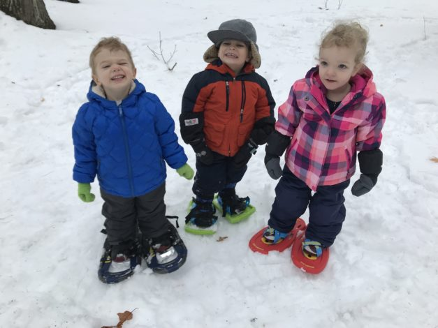 Snowshoeing 101 by Rebecca Hosley for Hike it Baby