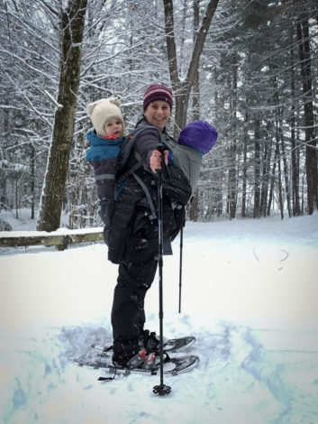 10809aa7 Tips for tandem carrying your smallest hikers by Erin Pennings for Hike it  Baby