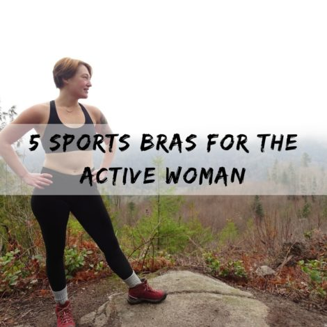 5 Sports bras for the active woman for Hike it Baby