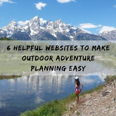 6 Helpful websites for outdoor adventure planning by Arika Bauer for Hike it Baby