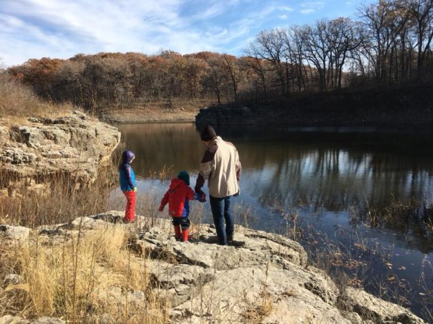 3 Kid-friendly hikes in Iowa by Katy Severe for Hike it Baby