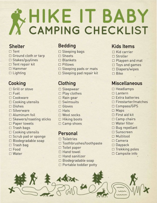 the ultimate guide to camping with kids hike it baby