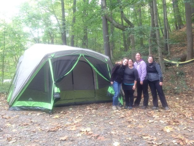 How to Organize a Fun Ladies' Camping Trip by Jessica Featherstone for Hike it Baby