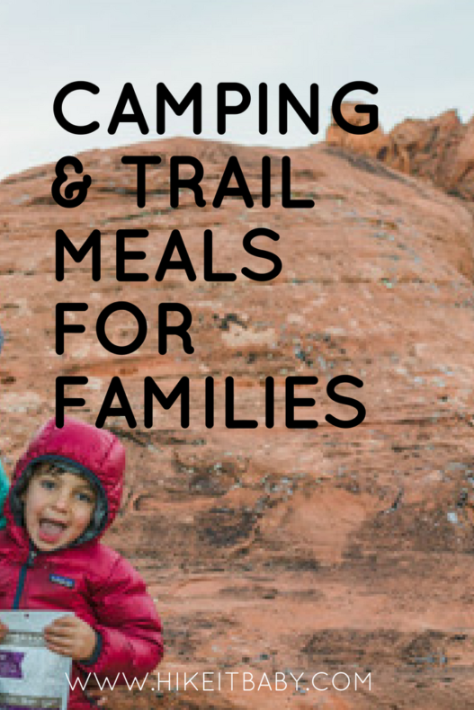 Kid-friendly meals for camping and hiking