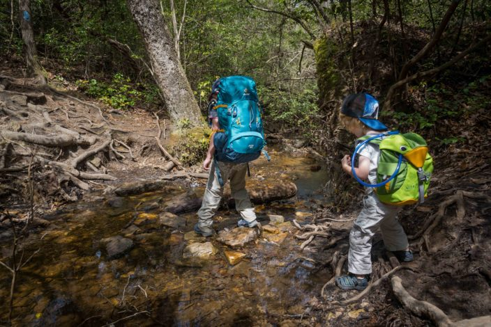 Backpacking 102: Taking the Kids by Melissa Hollingsworth for Hike it Baby