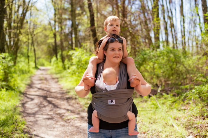 Celebrating Motherhood by Katy Severe for Hike it Baby