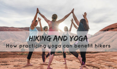 Yoga for hikers by Becca Hosley for Hike it Baby