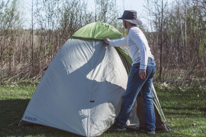 Backpacking Four-Man Tent Review for Hike it Baby & Backpacking with the Family: Four-Man Tent Review - Hike it Baby