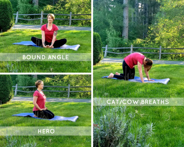 Yoga for hiking by Becca Hosley for Hike it Baby
