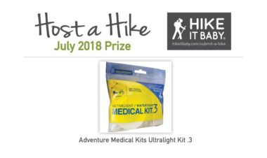HaH July 2018 prizes for Hike it Baby