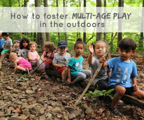 How to foster multi age play by Erin Pennings for Hike it Baby
