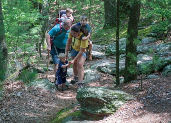 6 Tips for Hiking with Kids on Difficult Terrain by Kirby Crawford for Hhike it Baby