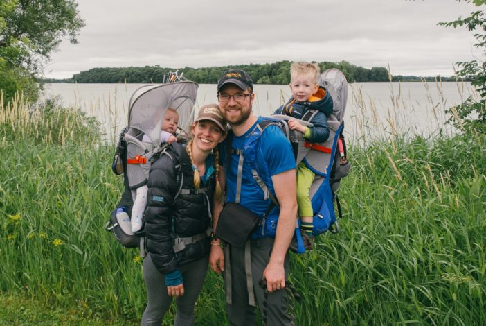 How one family makes getting outdoors a priority for Hike it Baby