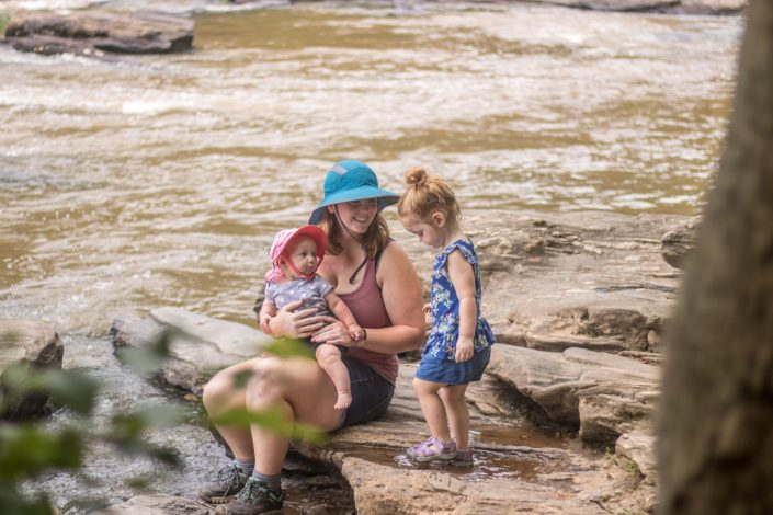 How hats help keep families safe outside by Shanti Hodges for Hike it Baby