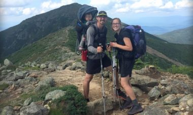 How to thru-hike on the Appalachian Trail with a baby for Hike it Baby