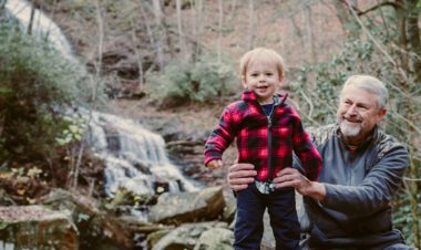 3 reasons to get on trail with grandparents by Vong Hamilton for Hike it Baby
