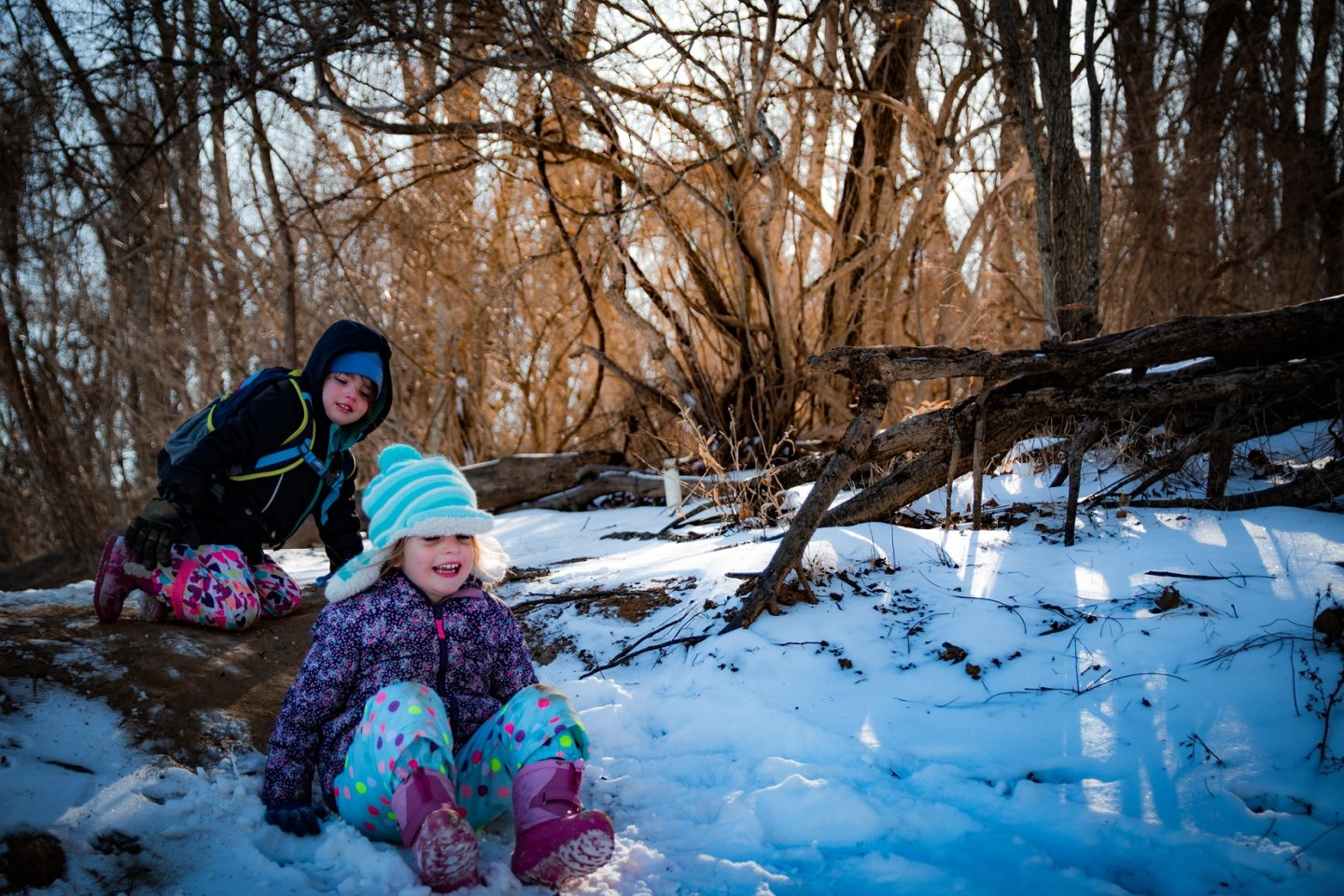 Cold weather camping by Lexie Gritlefeld for Hike it Baby
